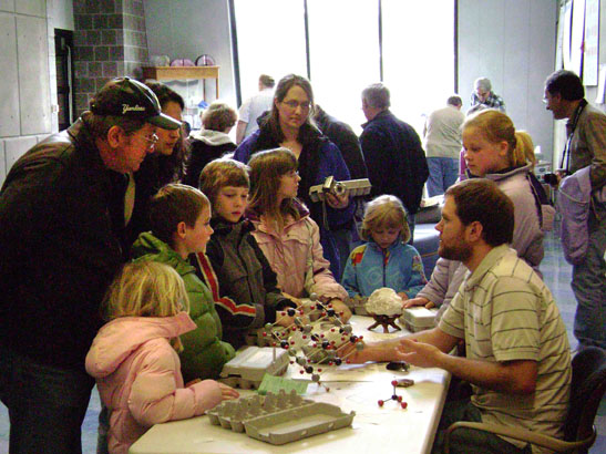 A station at our Minerals Junior Education Day